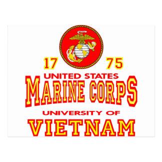 Cartão Postal Universidade do Corpo do Marines dos Estados