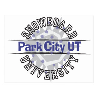 Cartão Postal Universidade do Snowboard - Park City UT