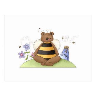 Cartão Postal Urso de Hunny
