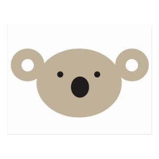 Cartão Postal Urso de Koala