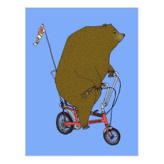 Cartão Postal Urso do circo