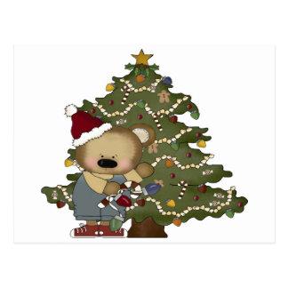 Cartão Postal Urso do Natal
