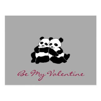 Cartão Postal Urso dos namorados