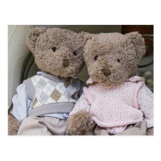 Cartão Postal ursos de ursinho