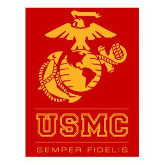 Cartão Postal USMC Semper Fidelis [Semper Fi]