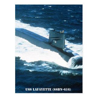 CARTÃO POSTAL USS LAFAYETTE