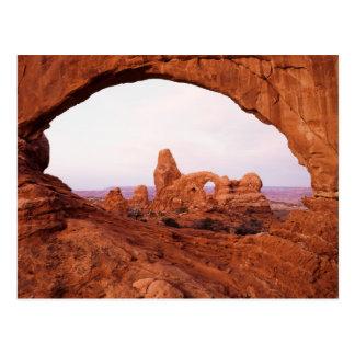 Cartão Postal Utá, parque nacional dos arcos, arco 1 da torreta