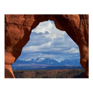 Cartão Postal Utá, parque nacional dos arcos, arco delicado