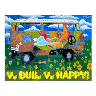 Cartão Postal V. Dub, V.Happy!