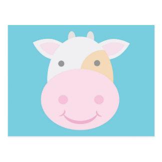 Cartão Postal Vaca bonito