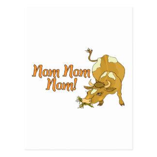 Cartão Postal Vaca de Nom Nom