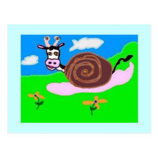 Cartão Postal Vaca do caracol