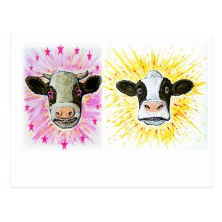 Cartão Postal Vacas loucas
