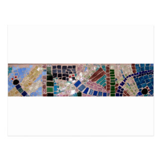 Cartão Postal Vaga-lume do mosaico