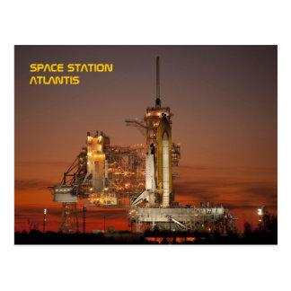 Cartão Postal Vaivém espacial Atlantis