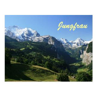 Cartão Postal Vale de Jungfrau