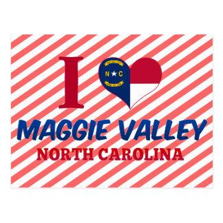 Cartão Postal Vale de Maggie, North Carolina