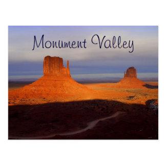 Cartão Postal Vale do monumento