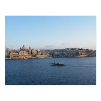 Cartão Postal Valletta - Malta