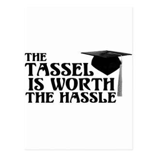 Cartão Postal Valor de Tassle o Hassel