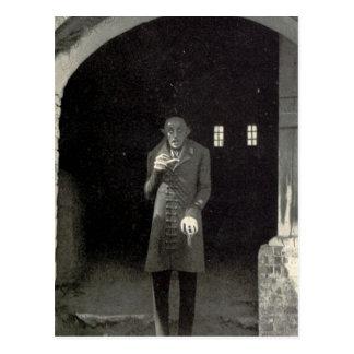 Cartão Postal Vampiro de Nosferatu