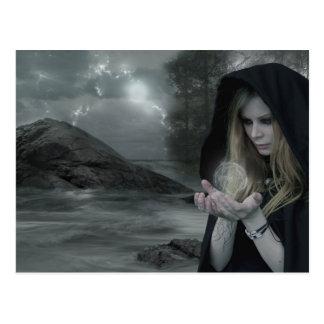 Cartão Postal Vampiro & feitiçaria