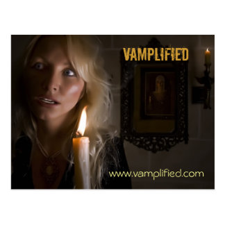 Cartão Postal Vamplified, www.vamplified.com