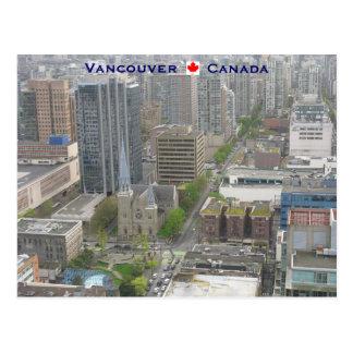 Cartão Postal Vancôver BC Canadá