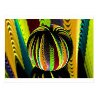 Cartão Postal Variação ColoursI na bola