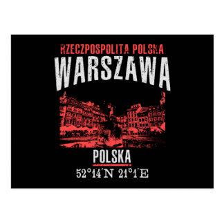 Cartão Postal Varsóvia