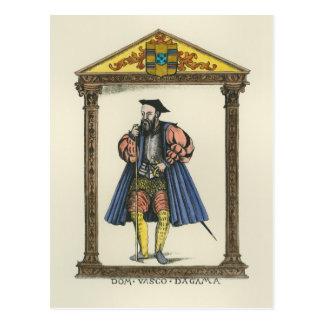 Cartão Postal Vasco da Gama