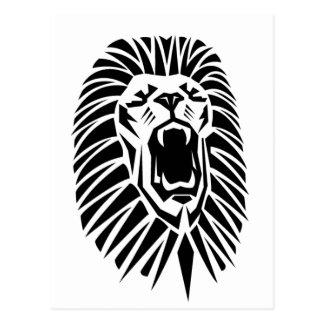 Cartão Postal vecto principal do leão