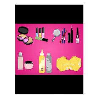 Cartão Postal vectorvaco_makeup_set_09102801_large