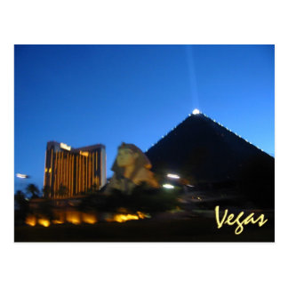 Cartão Postal Vegas