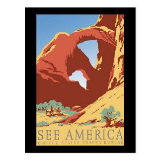 Cartão Postal Veja América