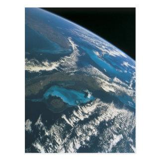 Cartão Postal Veja do espaço 4