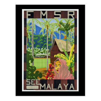 Cartão Postal Veja Malaya