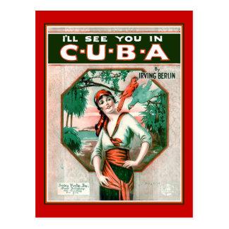 Cartão Postal Veja-o em Cuba