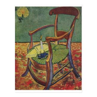 Cartão Postal Vela de Van Gogh