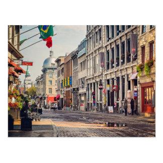 Cartão Postal Velha Montreal
