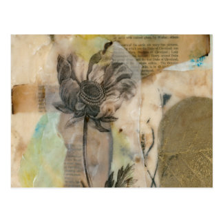 Cartão Postal Velino II floral
