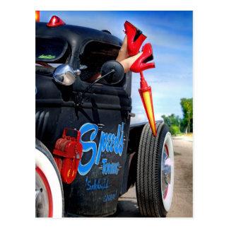 Cartão Postal Velocidades que rebocam o caminhão Betty