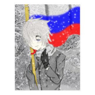 Cartão Postal Vem aqui Rússia