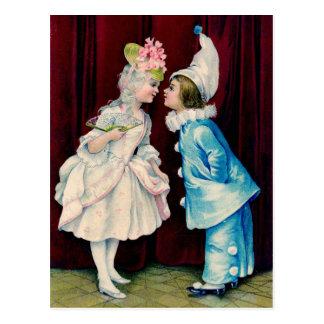 Cartão Postal Vem então o beijo