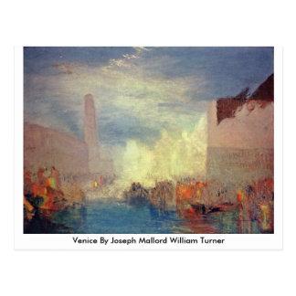 Cartão Postal Veneza por Joseph Mallord William Turner
