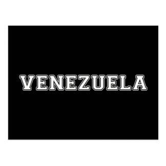 Cartão Postal Venezuela