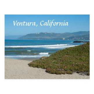 Cartão Postal Ventura, Califórnia o Pacífico e praia