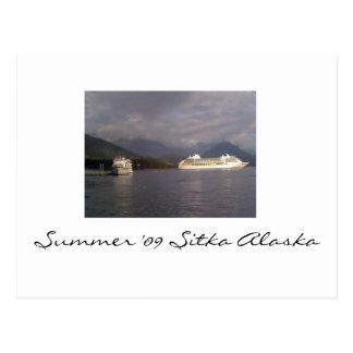 Cartão Postal Verão '09 Sitka Alaska