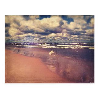 Cartão Postal Verão do Lago Michigan