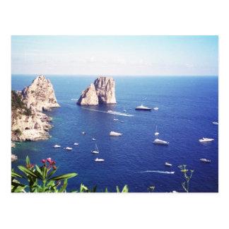 Cartão Postal Verão em Capri